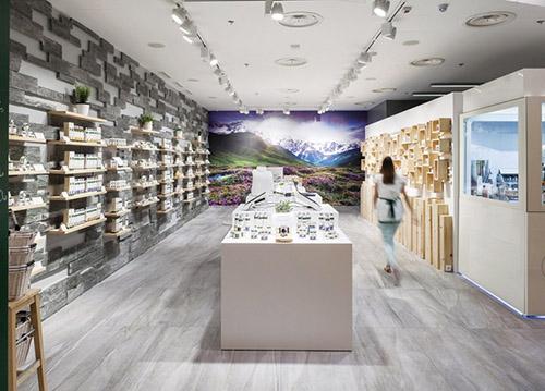 AlpStories 纯天然化妆品概念店设计